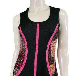 NWT Laura Hlavac Black/Pink Dress